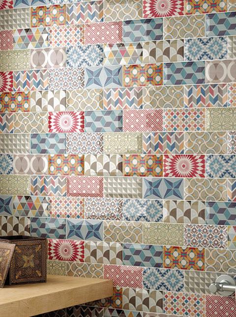 Декоративный керамогранит и декоративная керамическая плитка