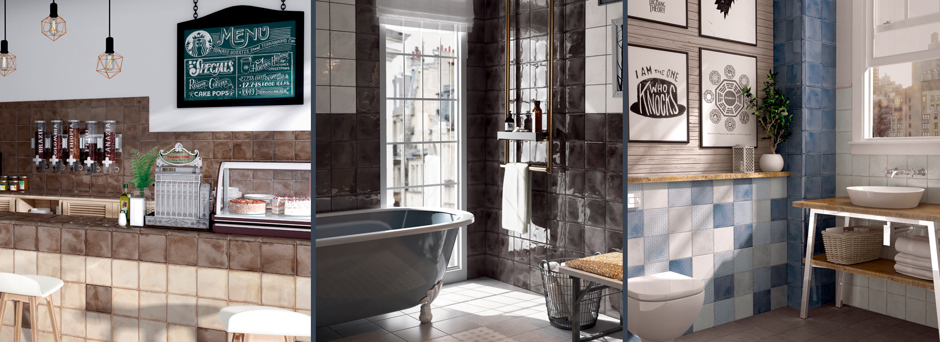 Для ванных и кухонь в стиле шале