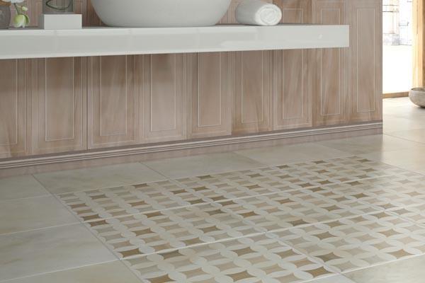 Керамическая плитка для ванной и кухни Camelia, Seranit. Фото ин