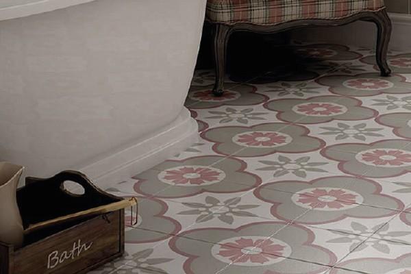 Фото интерьера с декором Caprice Deco Colours, Equipe показывает