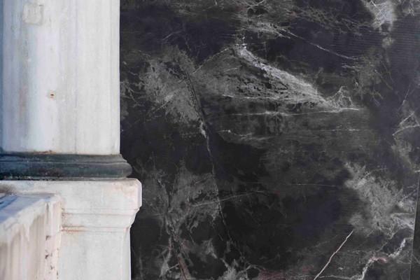 Фото керамогранита, черный мрамор Nero Marmo, Seranit