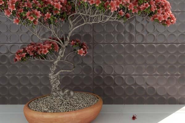 Рельефный 3D декор для стен, , плитка Flavia, Serra